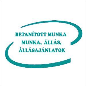 BETANÍTOTT MUNKA