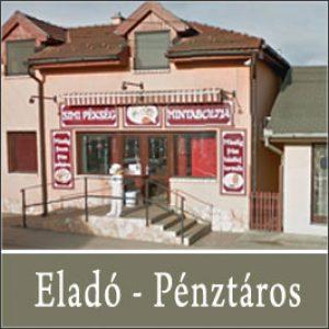 Eladó / Pénztáros – Páty