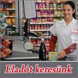 eladói állás