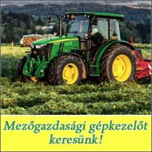 Mezőgazdasági gépkezelő – Csomád