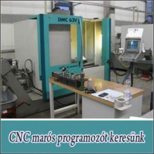 CNC marós programozó – Bp./XXI. kerület