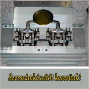 Szerszámkészítő – Bp. / XXI. kerület