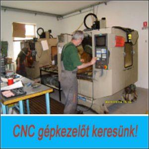CNC gépkezelő – Aszód