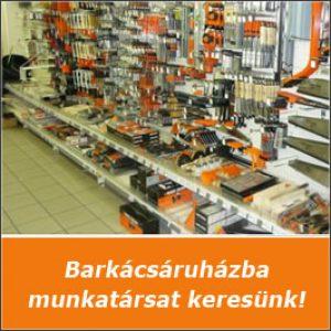 Barkácsáruházba munkalehetőség – Budapest