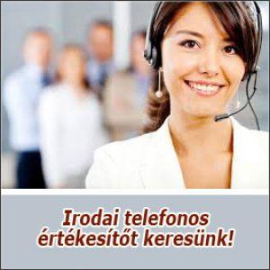 Irodai telefonos értékesítő – Debrecen