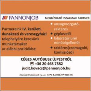 Munkatársakat keresünk! – Dunakeszi/Veresegyház/IV. kerület